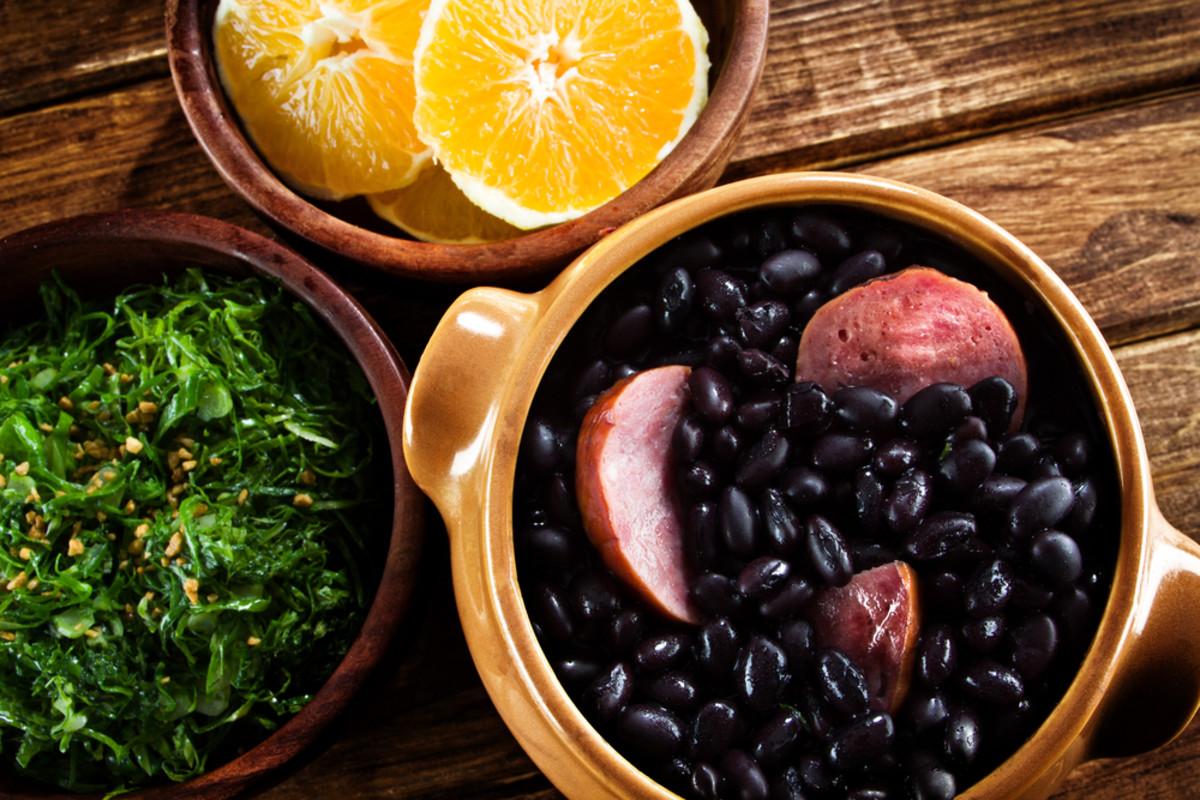feijoada is a staple of a traditional brazilian diet