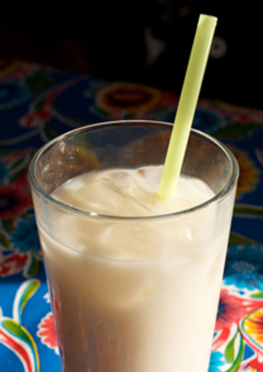horchata at Café Moose