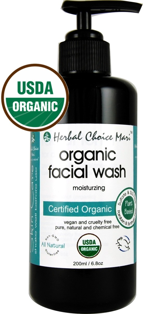 herbal choice face wash