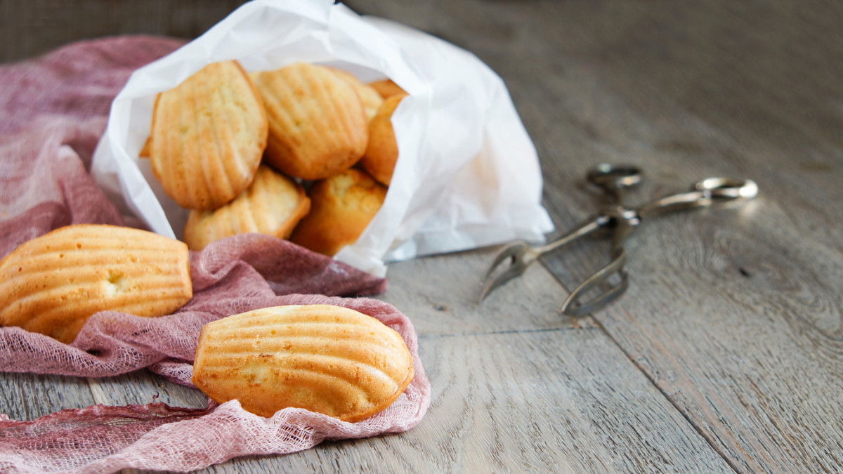 Madeleine Recipe with Lavender, Honey, and Anise