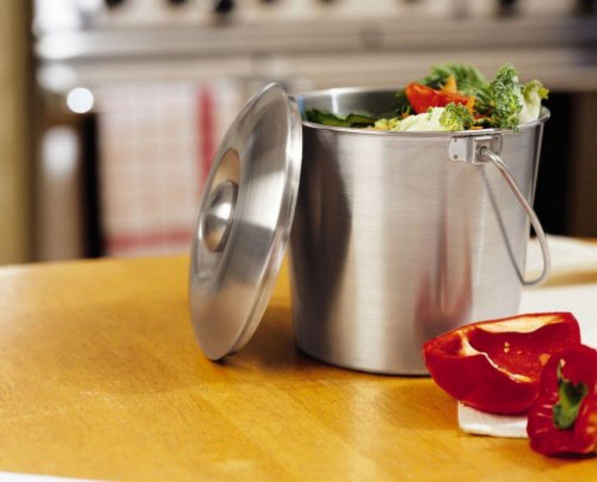kitchen compost bin option 1
