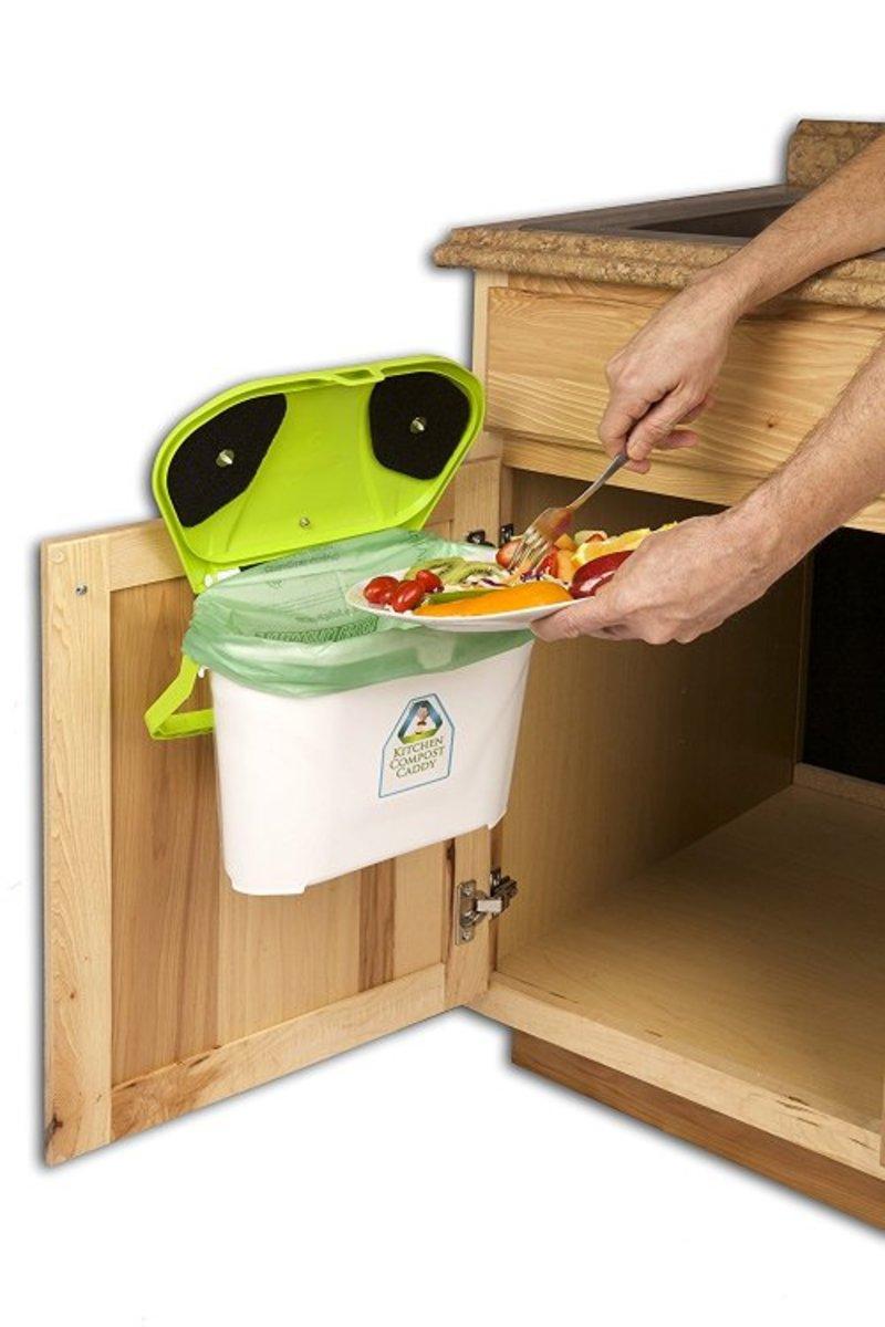 kitchen compost bin option 3