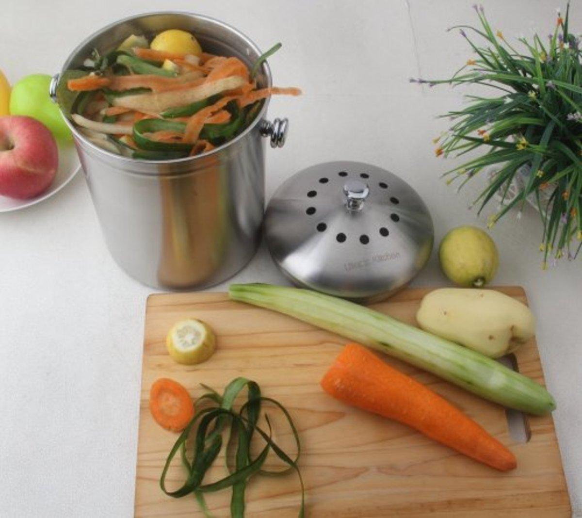 kitchen compost bin option 2
