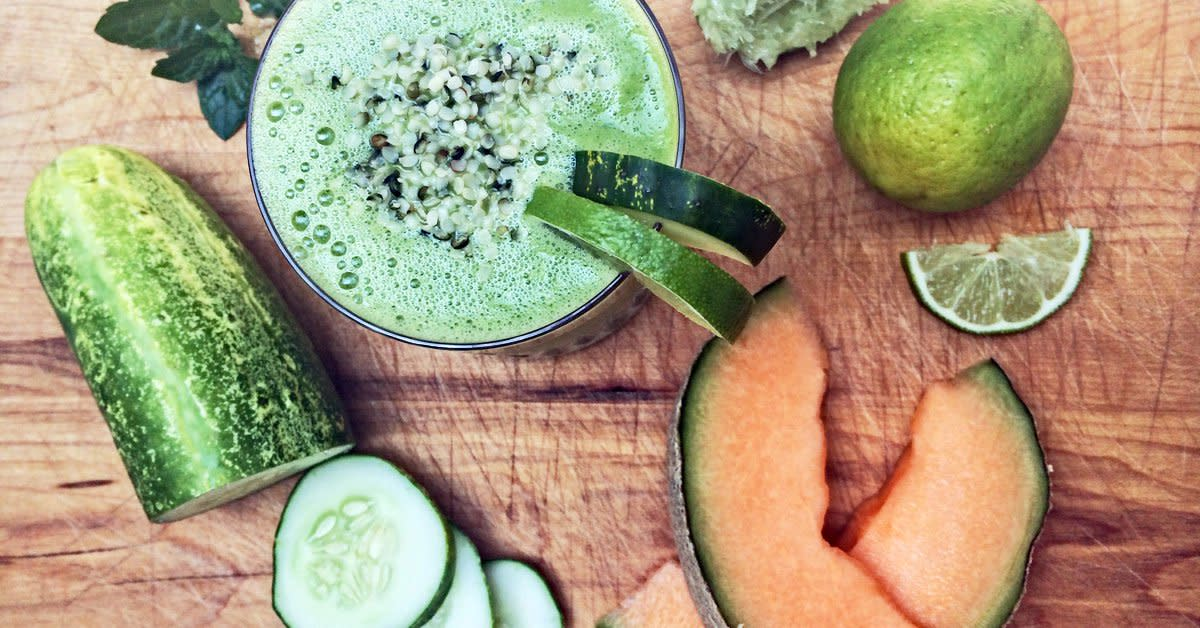 cucumber and cantaloupe smoothie recipe