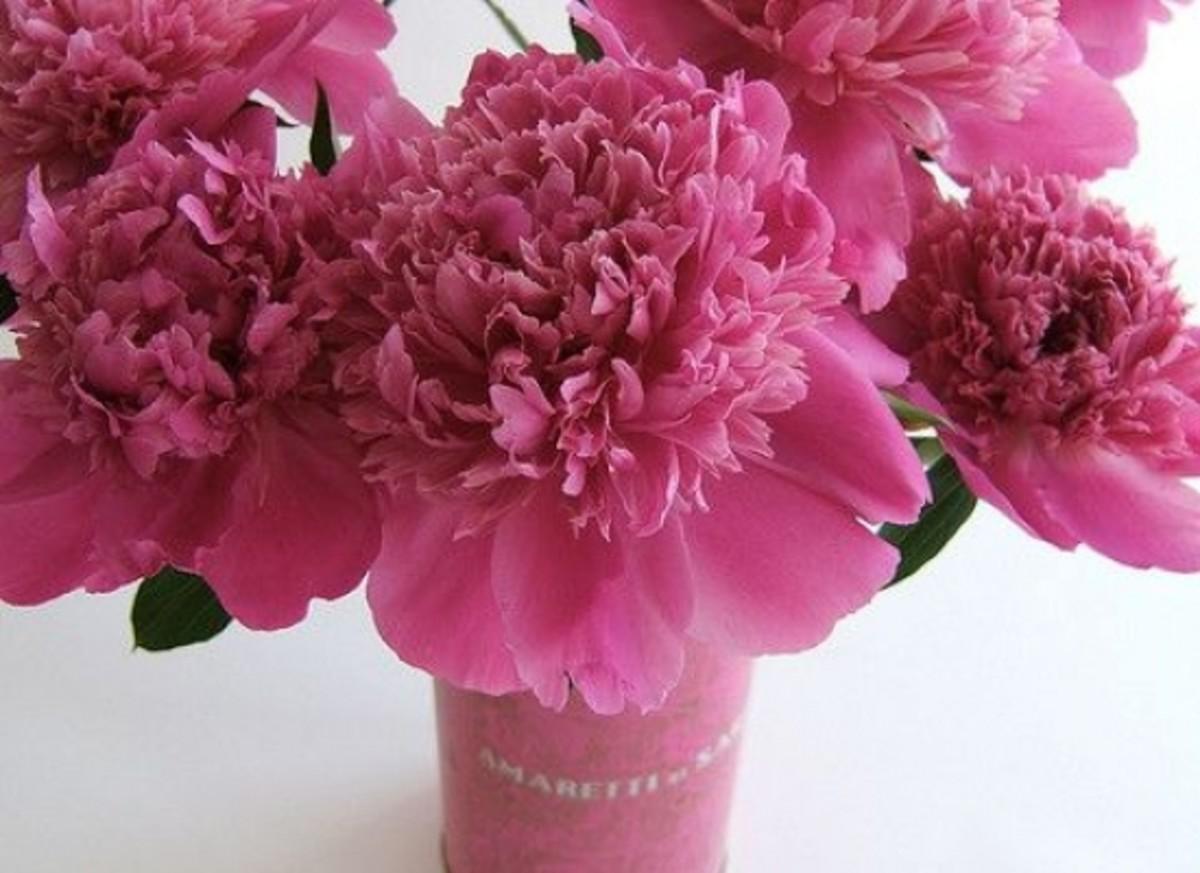 Vintage Tin Flowers