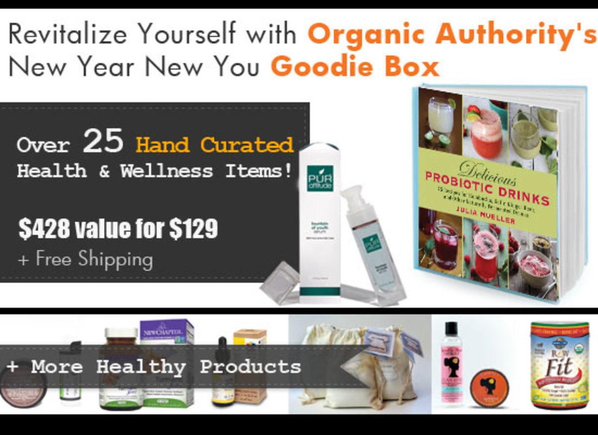 Organic Authority's New Year 2014 Goodie Box