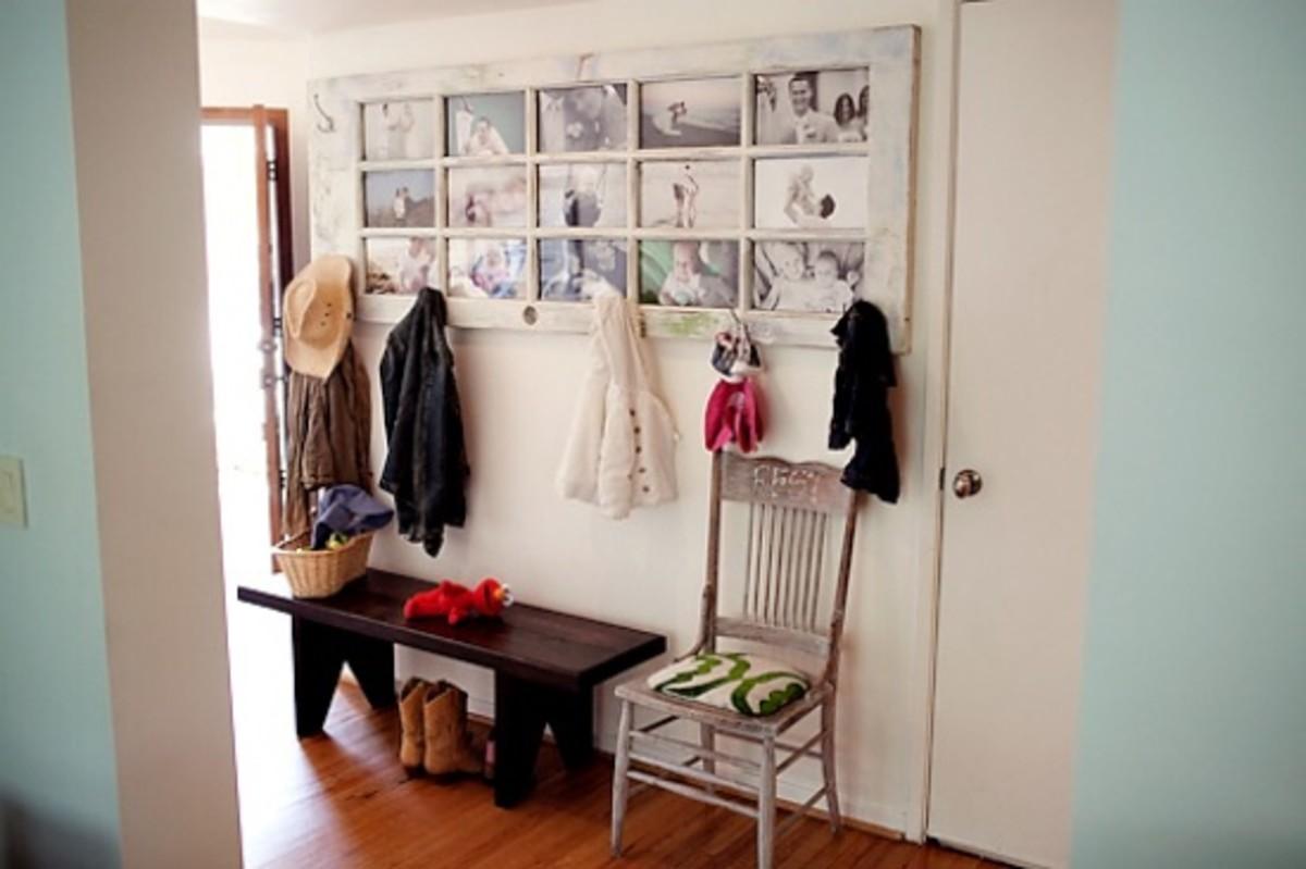 door photo display