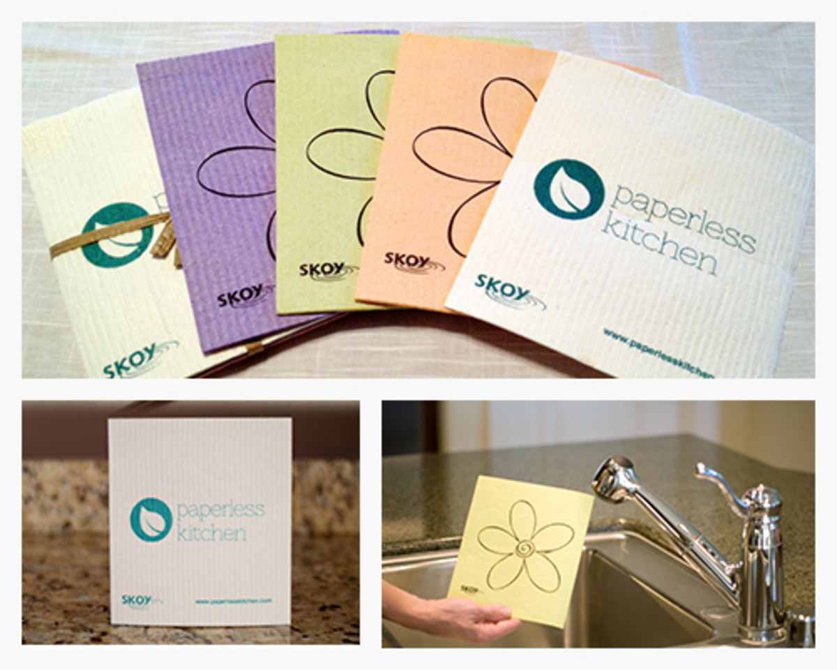 Paperless Kitchen SKOY Cleaning Cloths