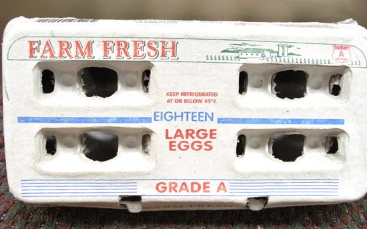 Recalled eggs