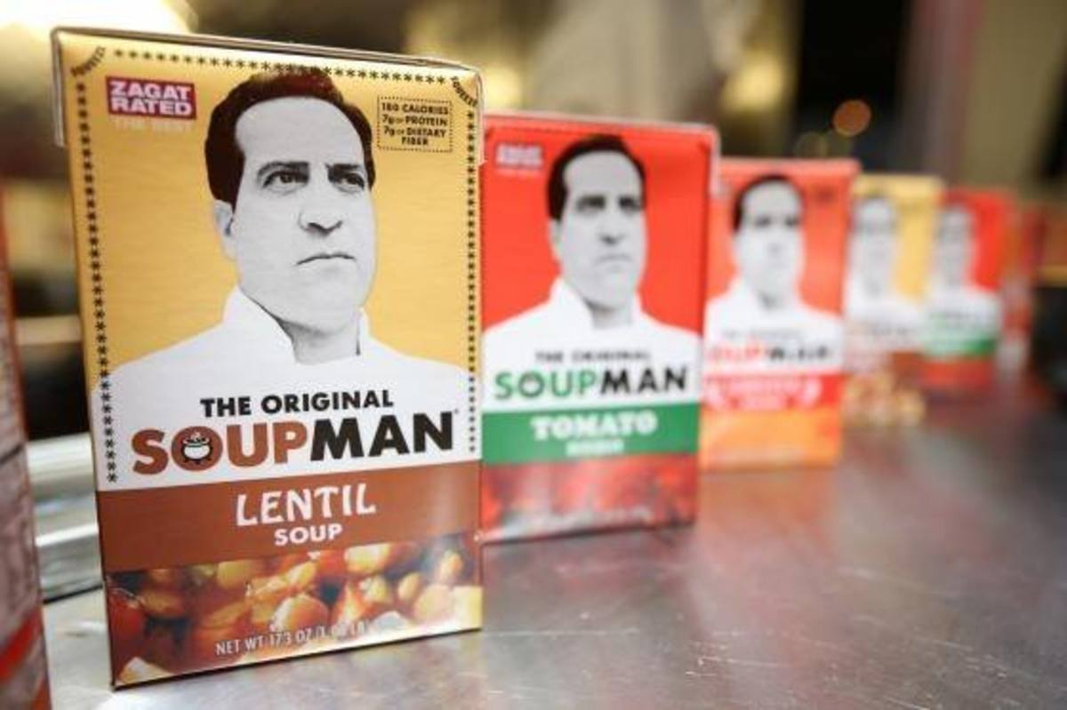 The Soupman is coming to a kitchen near you.
