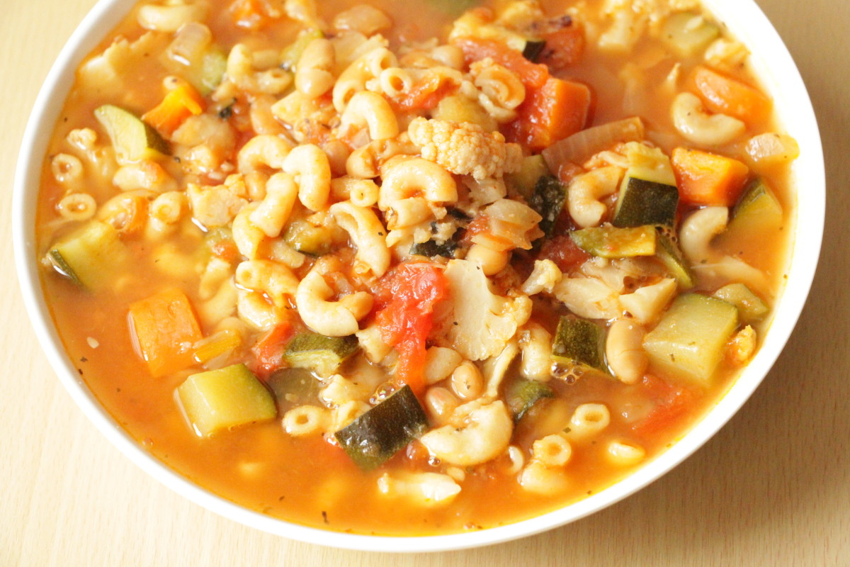 Just easy recipes minestrone soup