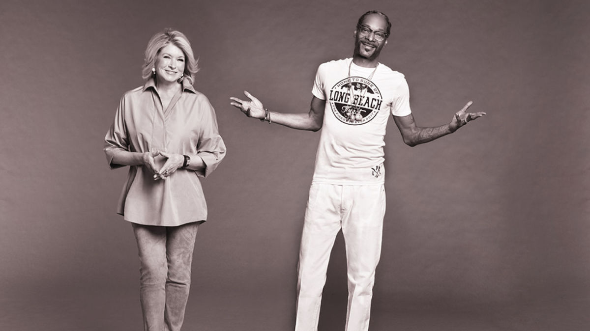 Martha Stewart and Snoop Dogg's New Partnership is Everything Right With the World
