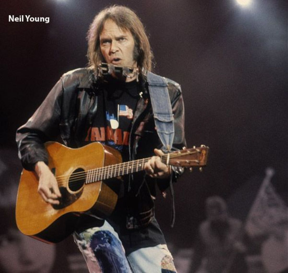 Neil Young at Farm Aid Concert