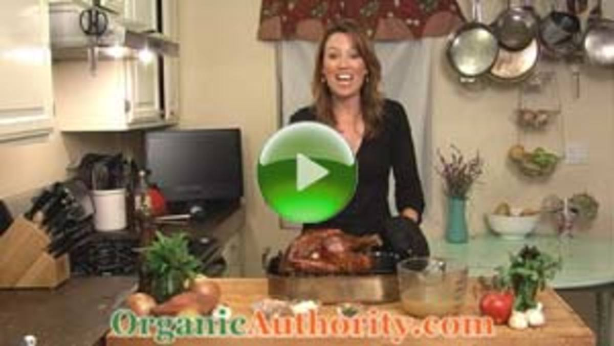Easy Fresh Herb Organic Turkey Video