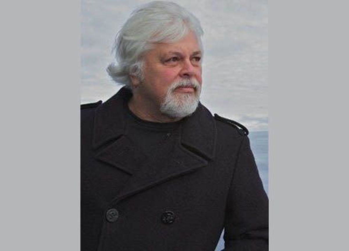 Captain Paul Watson of Sea Shepherd