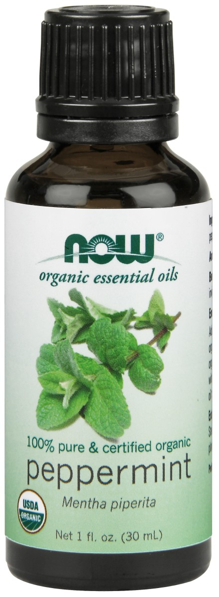 NOW Solutions Organic Peppermint Oil