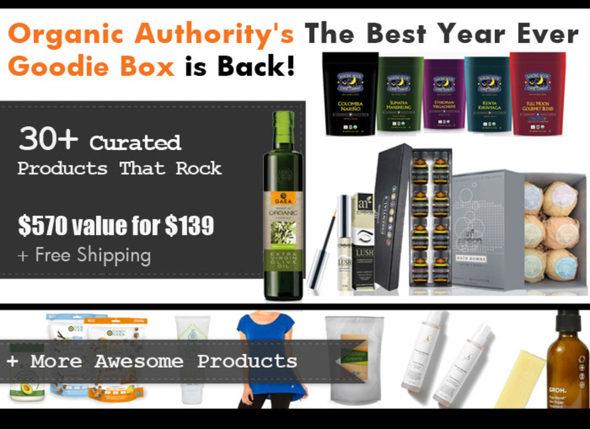 Organic Authority's 2016 January Goodie Box