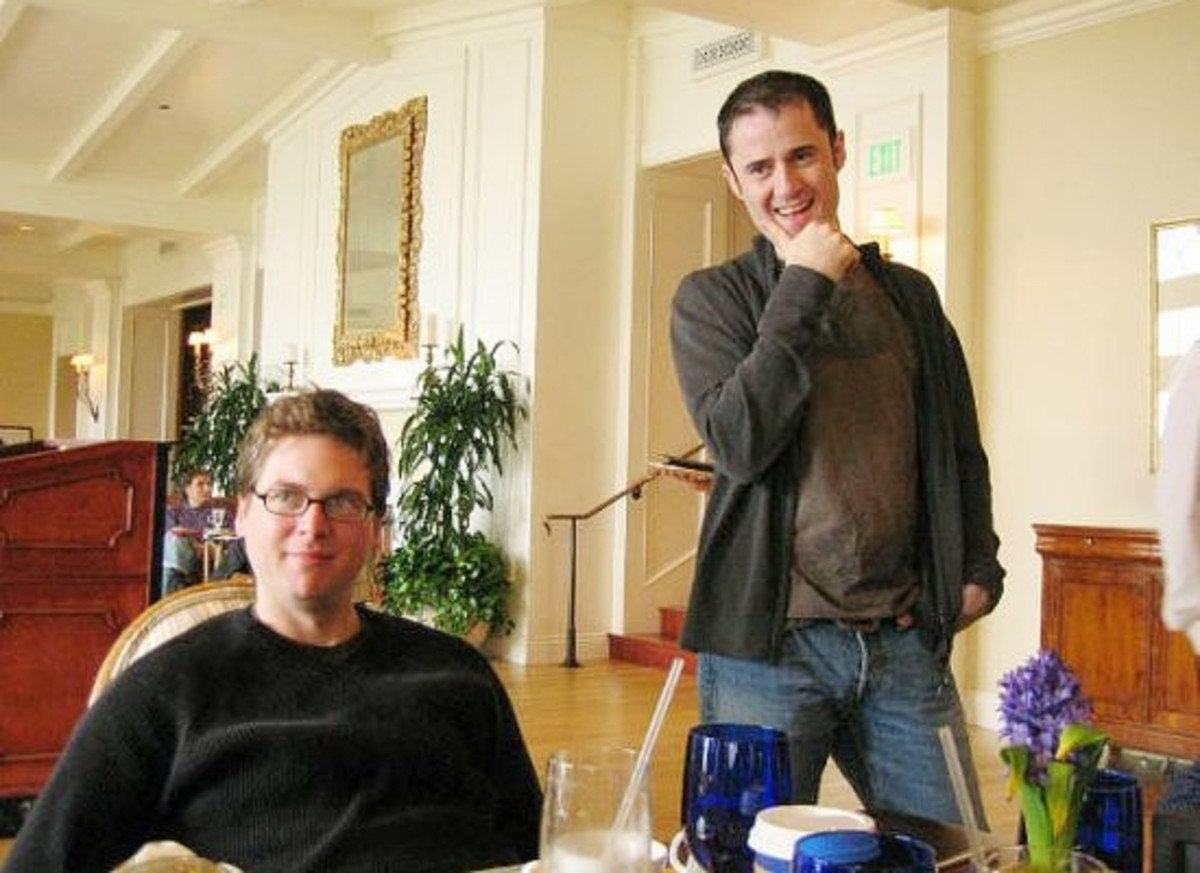 Biz Stone and Evan Williams