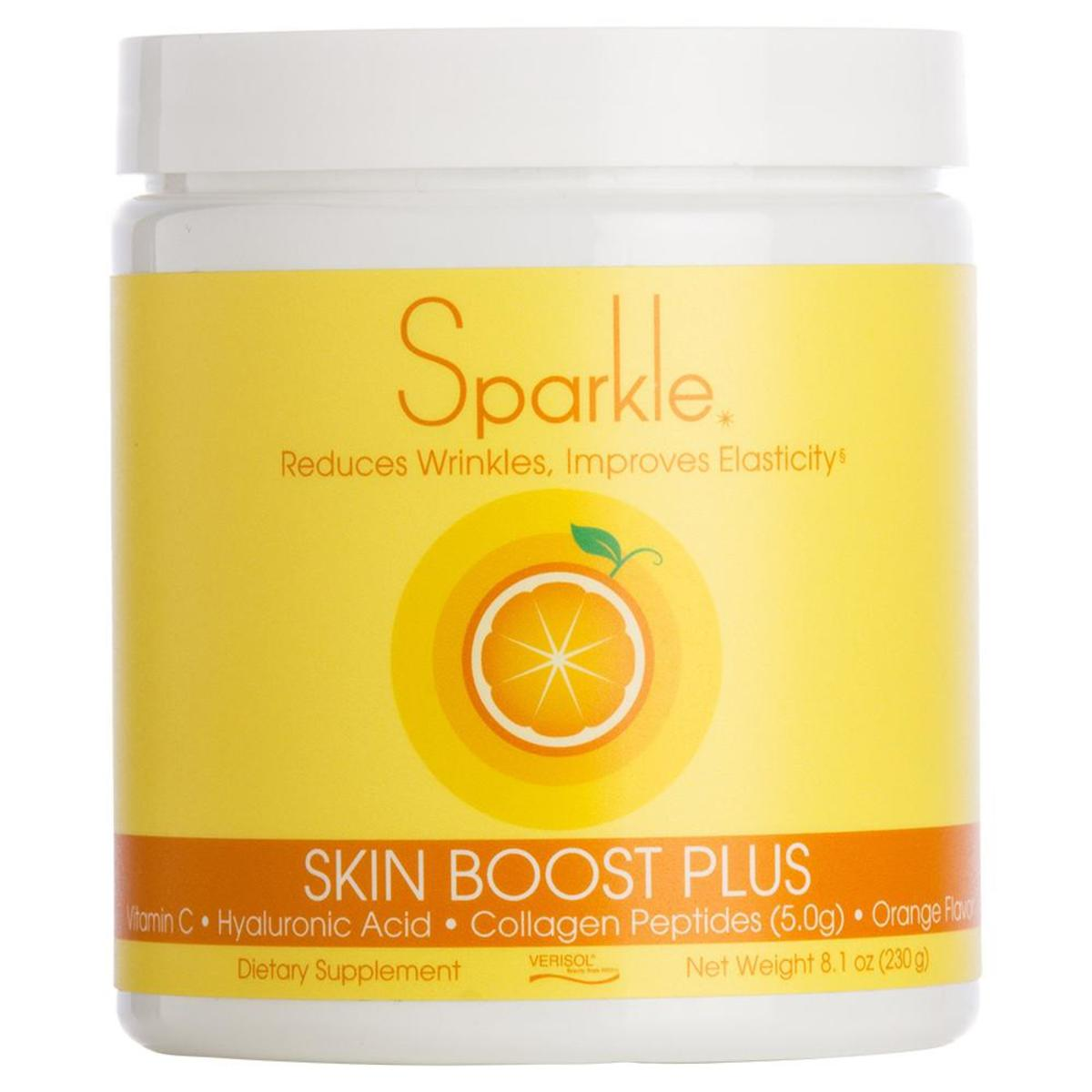 Sparkle's key ingredient is Verisol which has been clinically tested for it's efficacy.