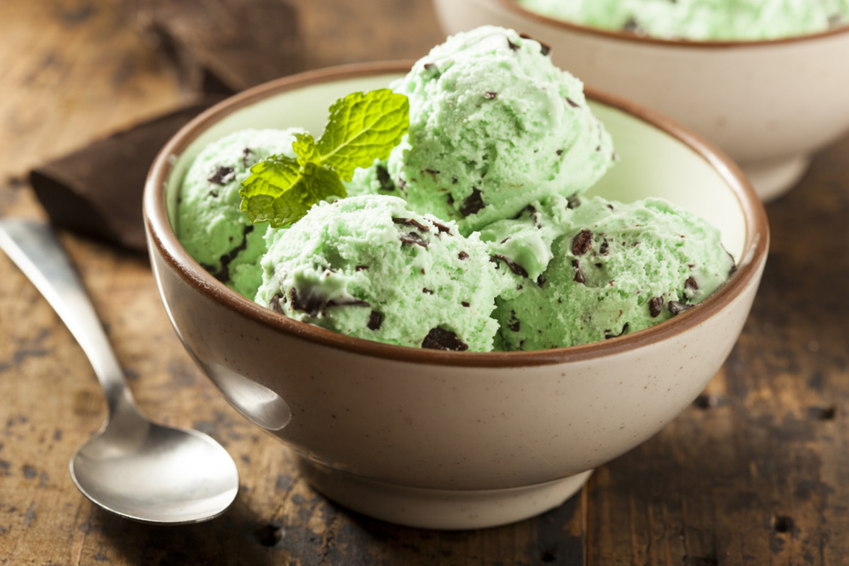 Vegan Avocado Mint Chocolate Chip Ice Cream Recipe