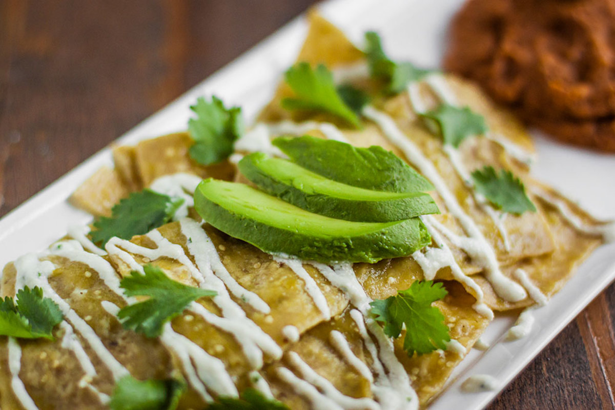 Vegan Chilaquiles Recipe