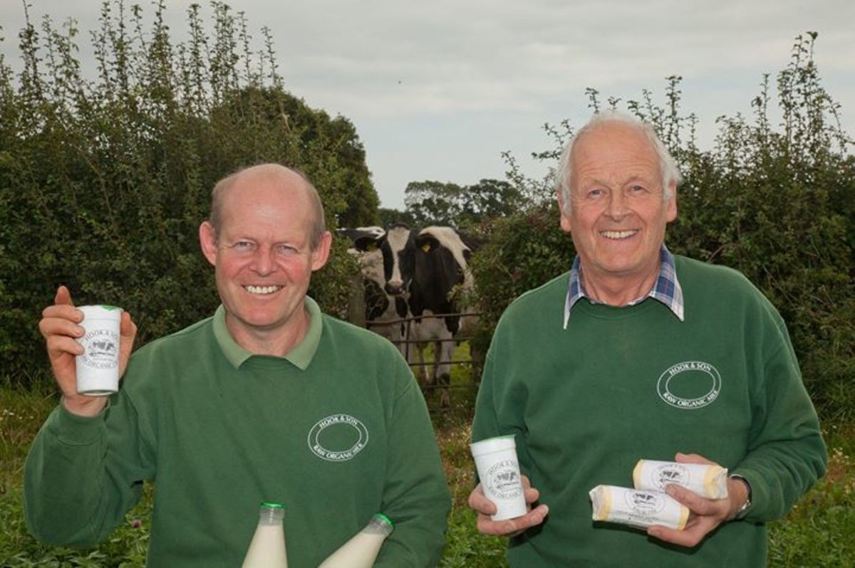 The Moo Man is dedicated to producing organic milk.