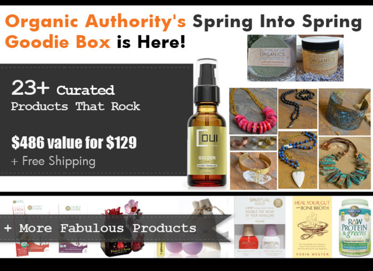 Organic Authority Spring Goodie Box 2016