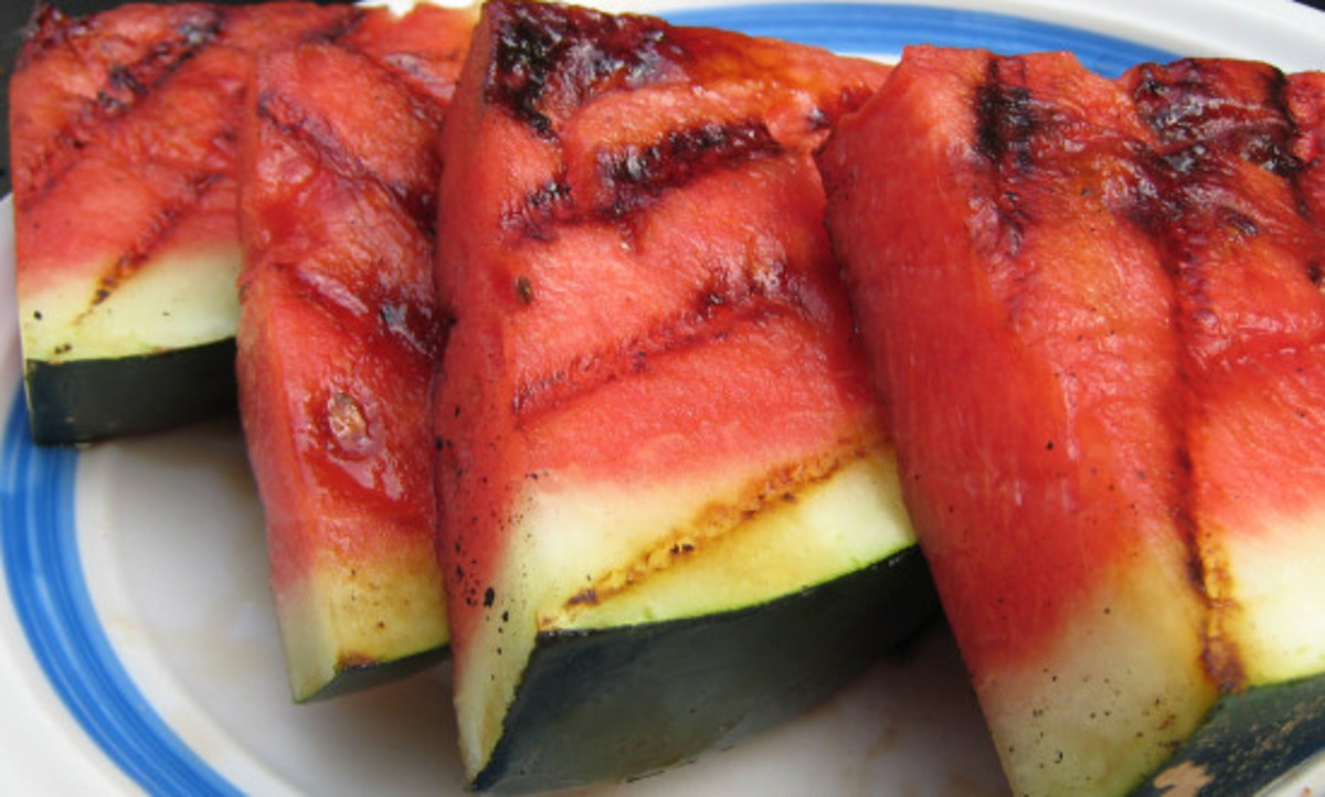 Grilling ideas, watermelon