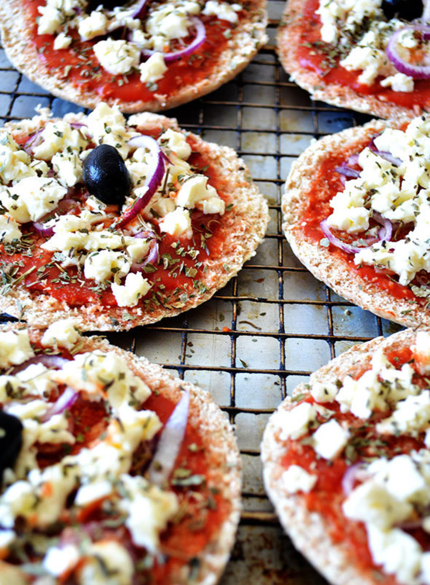 Grilled recipes, pizza