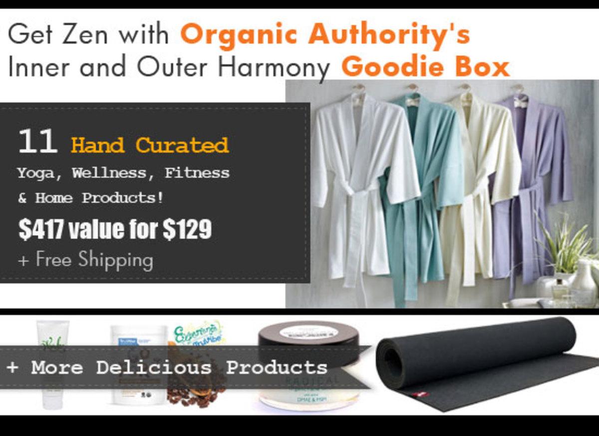 Organic Authority's Zen Goodie Box 2014