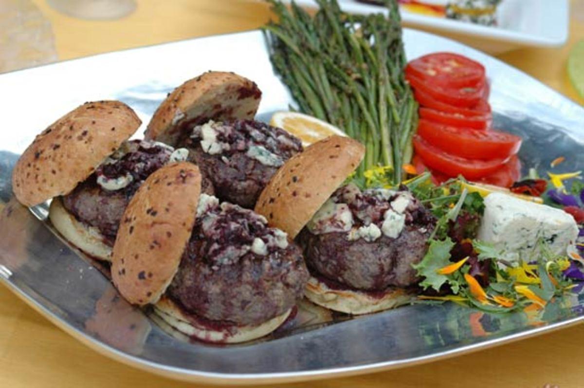 Grilling recipes, burgers
