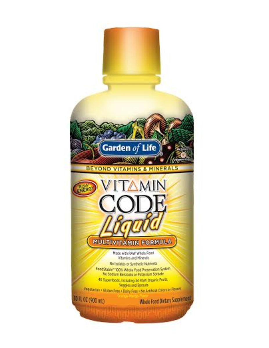 Garden of Life Vitamin Code Liquid
