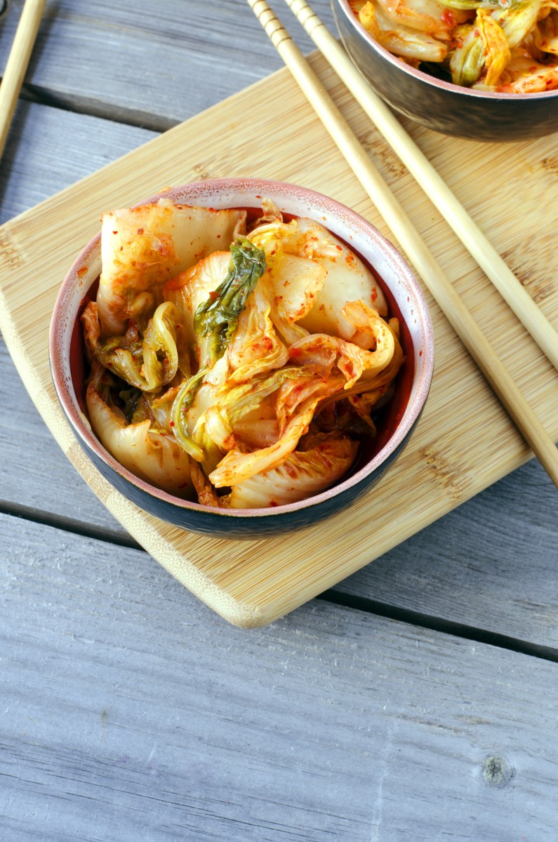 8 kimchi recipes to spice up your life organic authority kimchi is a staple in korean food and is often served as a side dish at every meal traditional korean kimchi is made by fermenting vegetables in a salt forumfinder Images