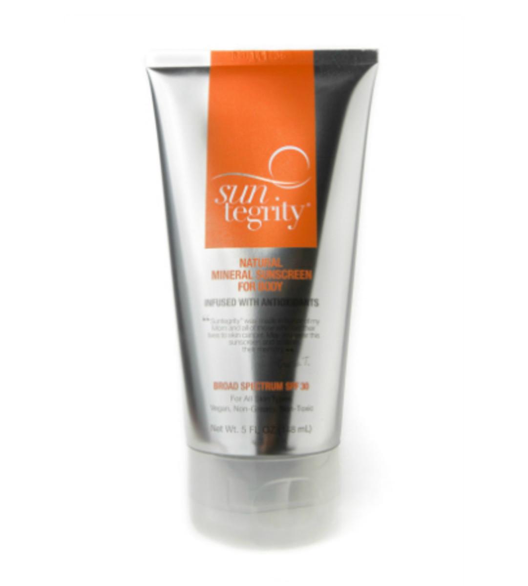 Natural Sunscreen Suntegrity Body 30