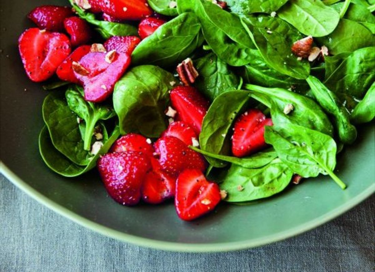 strawberry-salad