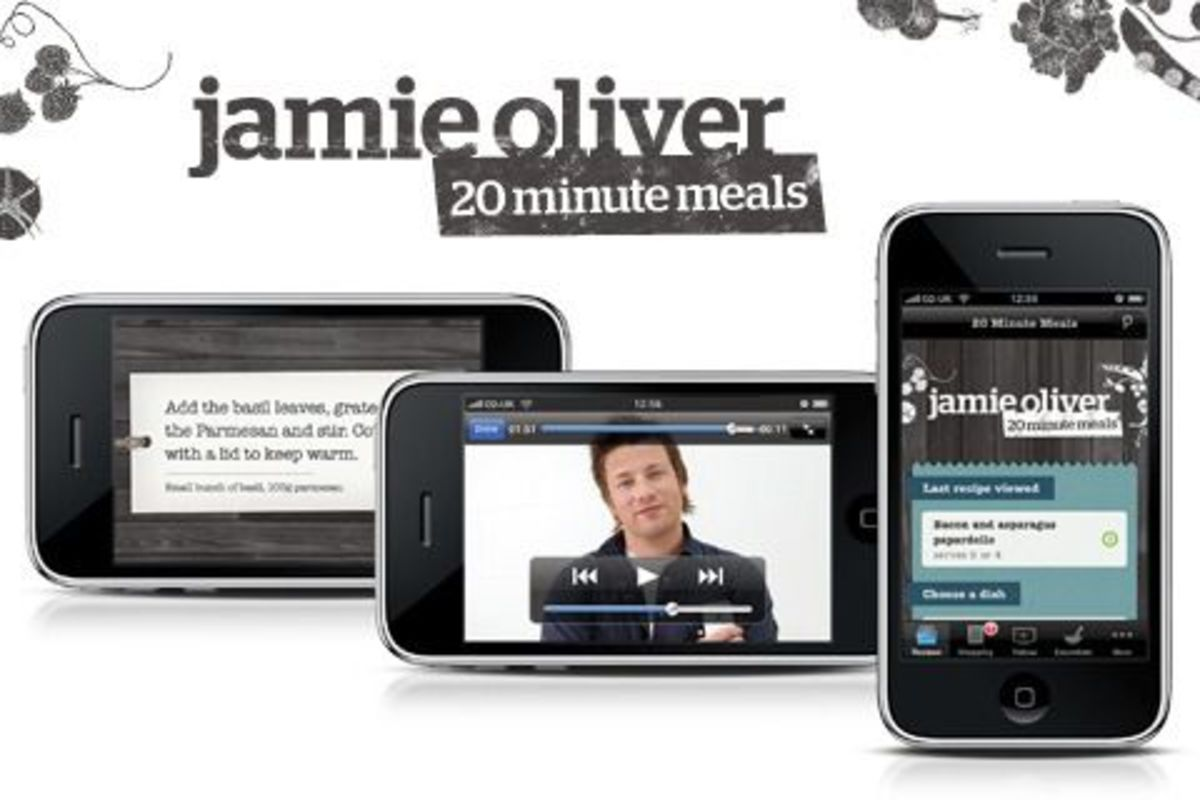 Jamie Oliver brings his 20 minute meals app to Android mobile phones