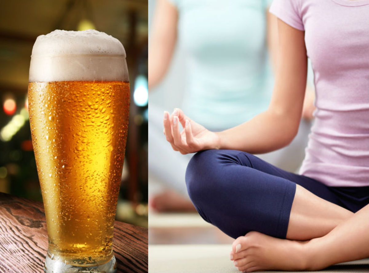 Yoga and Beer, Together At Last