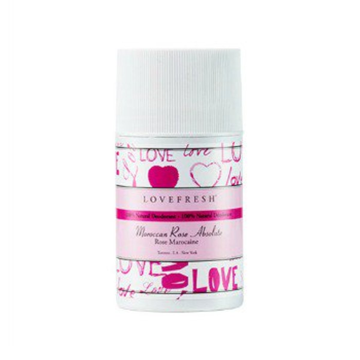 LOVEFRESH Moroccan Rose Deodorant Stick