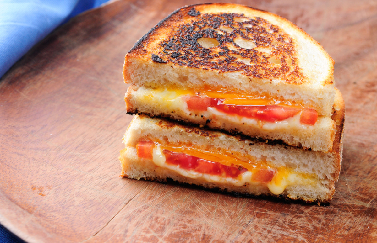 tomato grilled cheese