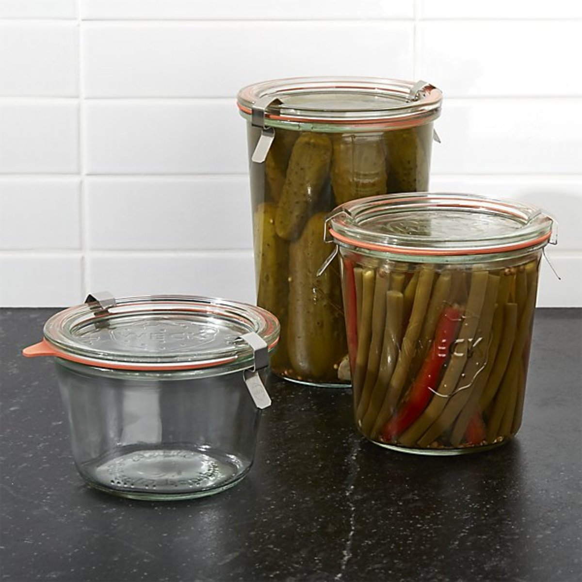 Preserve nature's bounty with food storage containers.