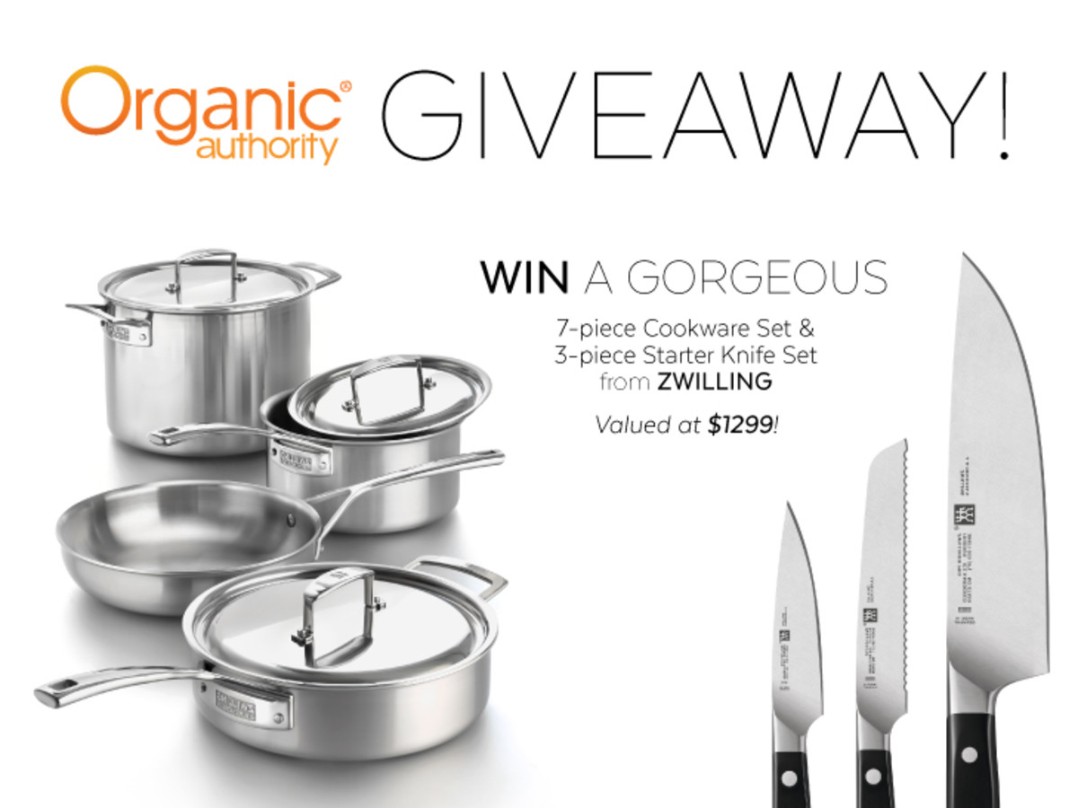 Zwilling J.A. Henckels Cookware & Starter Knife Set