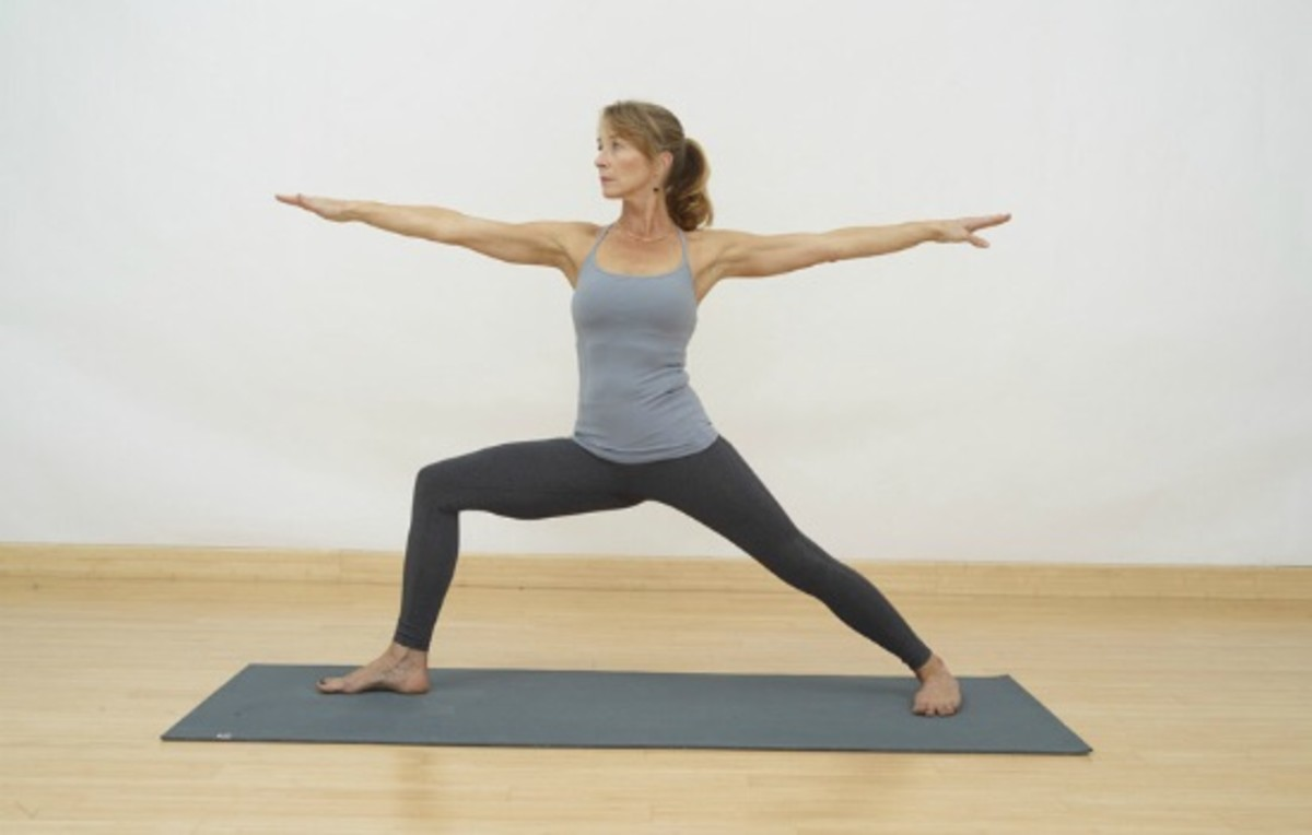 Yoga Poses for Toned Thighs and Long, Lean Legs