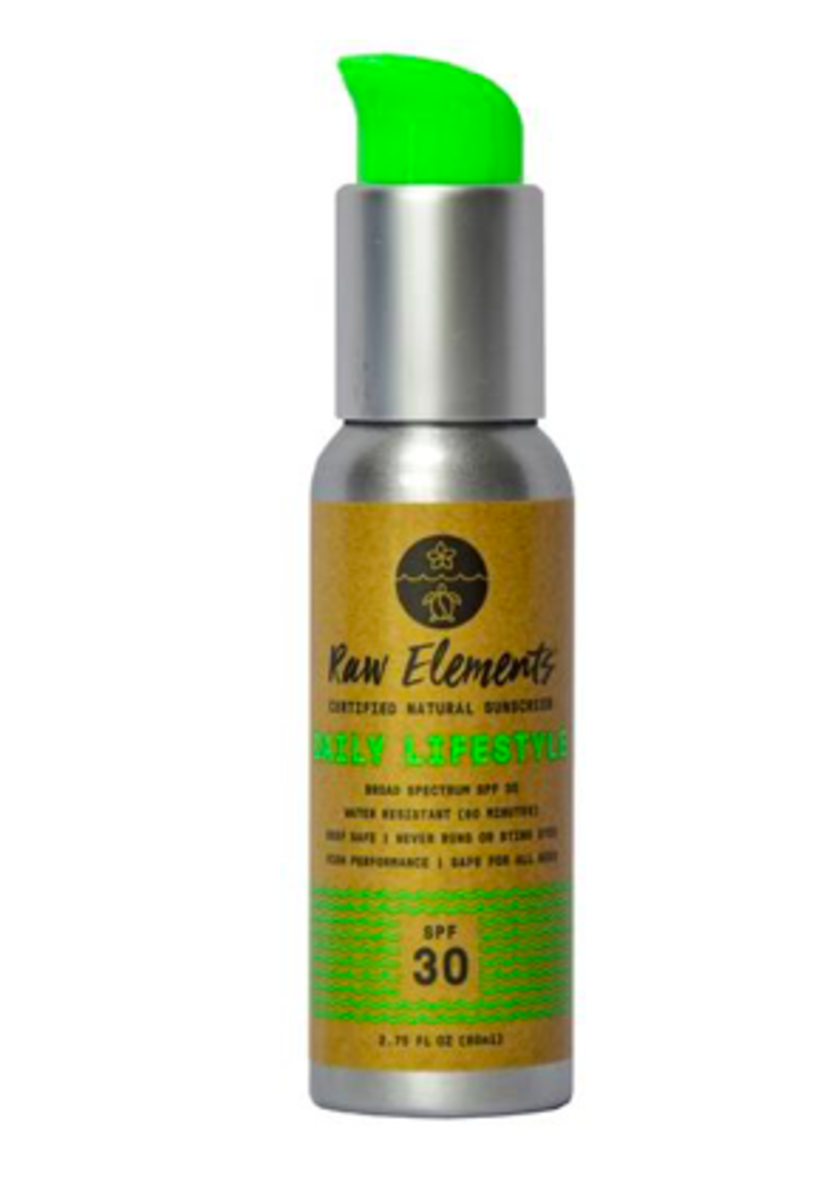 Raw Elements - Daily Lifestyle 30+ Pump $19.99