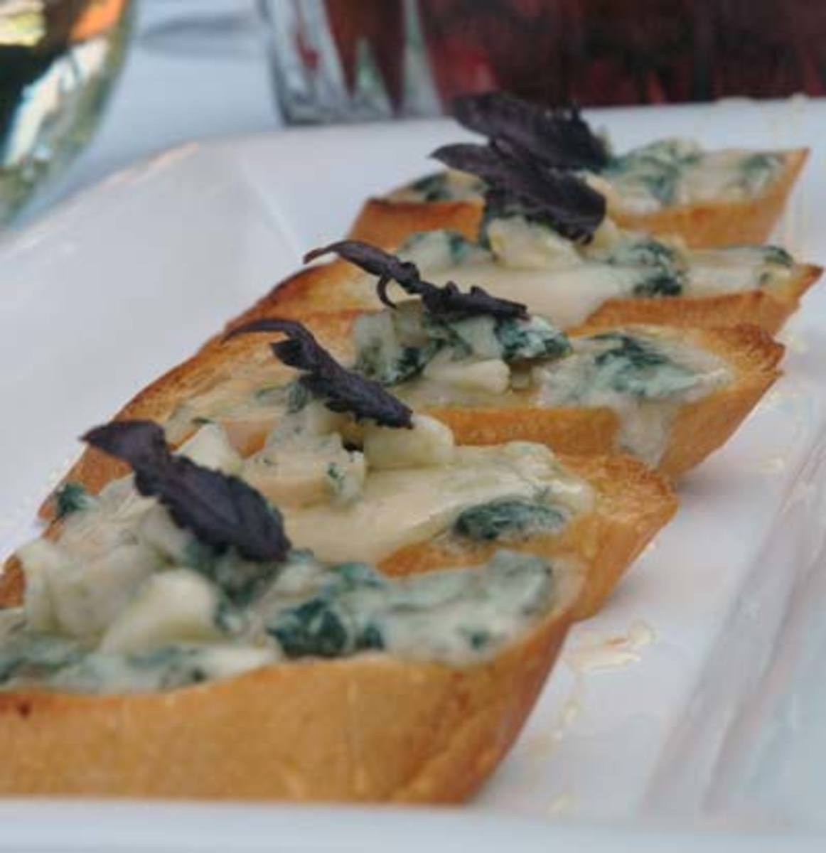 Gorgonzola Bruschetta