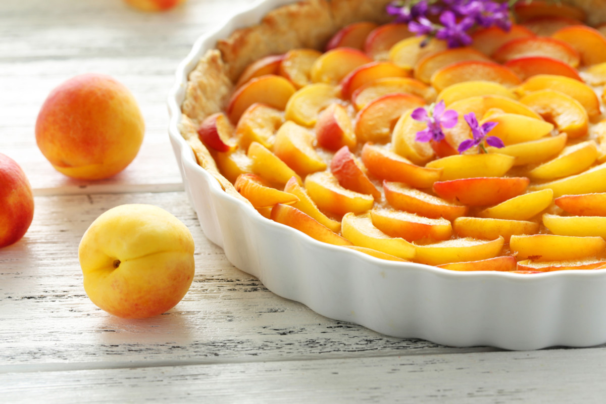 Gluten-free apricot tart recipe