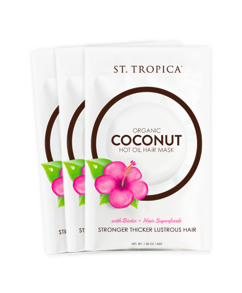 St. Tropica Organic Coconut Oil Hair Mask