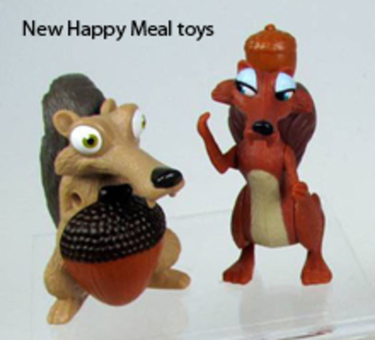 MCDONALD'S ICE AGE: DAWN OF THE DINOSAURS HAPPY MEAL TOY COLLECTION