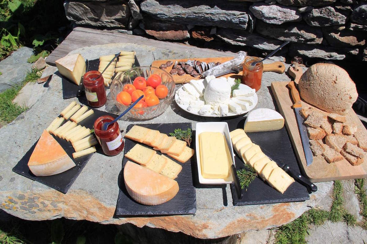 Best mountain cheese in Verbier