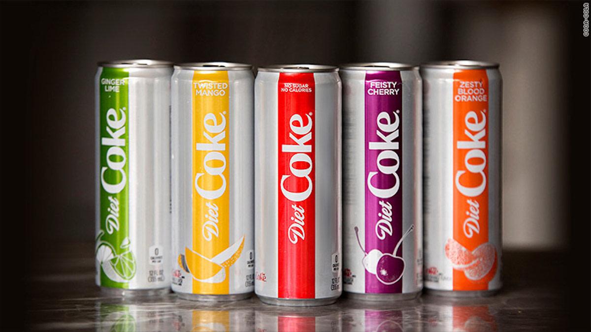 Coca-Cola Updates Diet Coke In Effort to Revive Slumping Sales