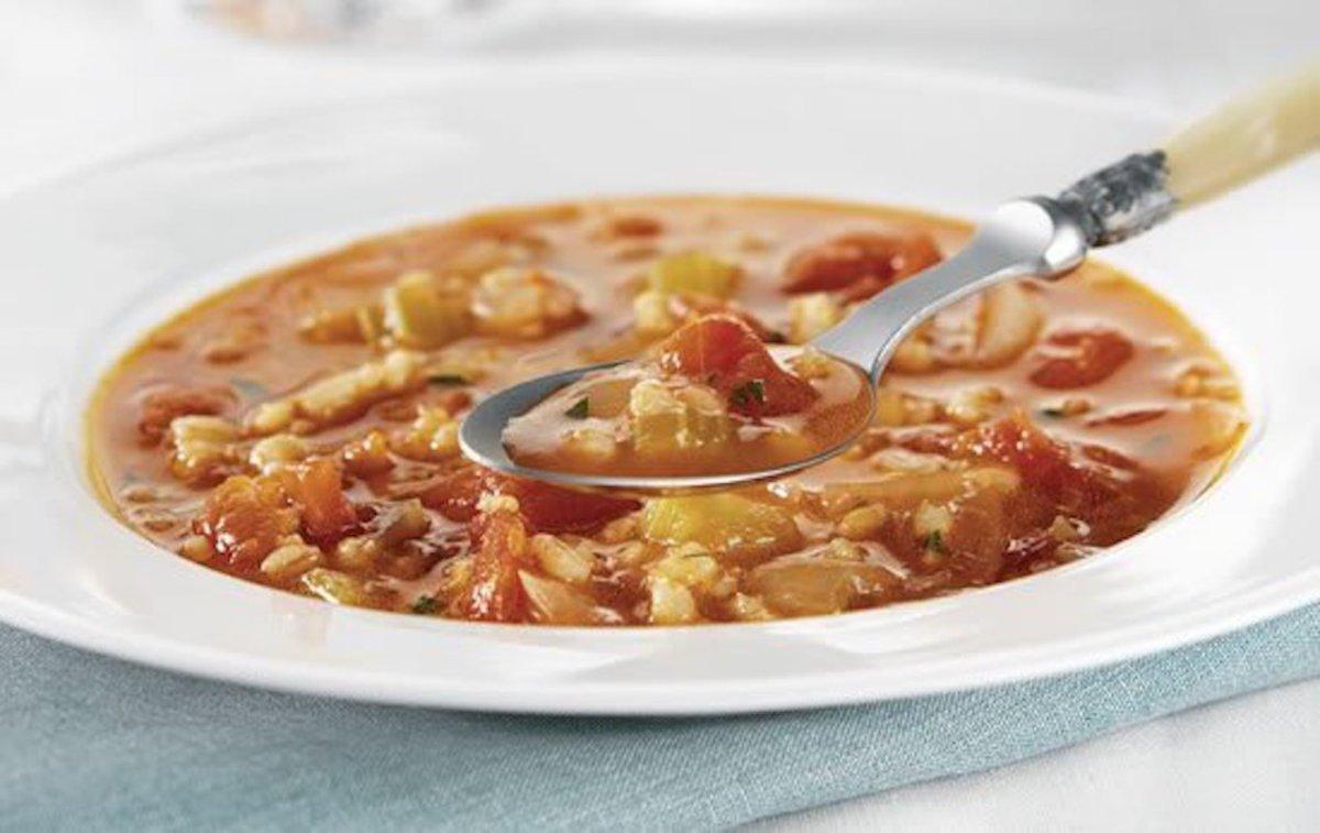barley recipes - tomato barley soup